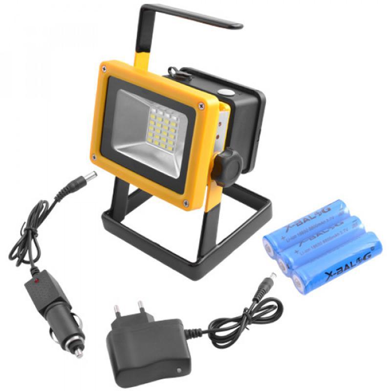 Прожектор переносной ручной Bailong BL-204 с аккумулятором
