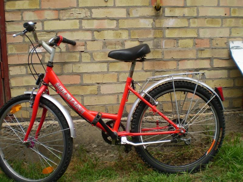 Б.у вело з Німетчини на зріст 120-150см. 7передач кол. 24д. - Фото 4