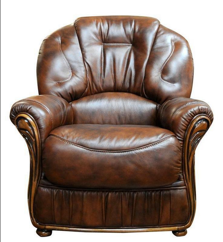 Кресла кожаные (Италия) - Фото 2