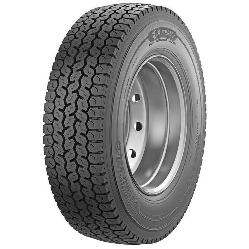 Грузовые шины 215/75 R17,5 Michelin X Multi D (ведущая) 126/124M