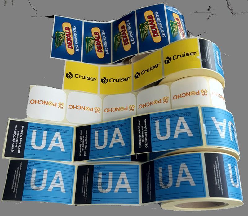 Этикетка для маркировки партий семян