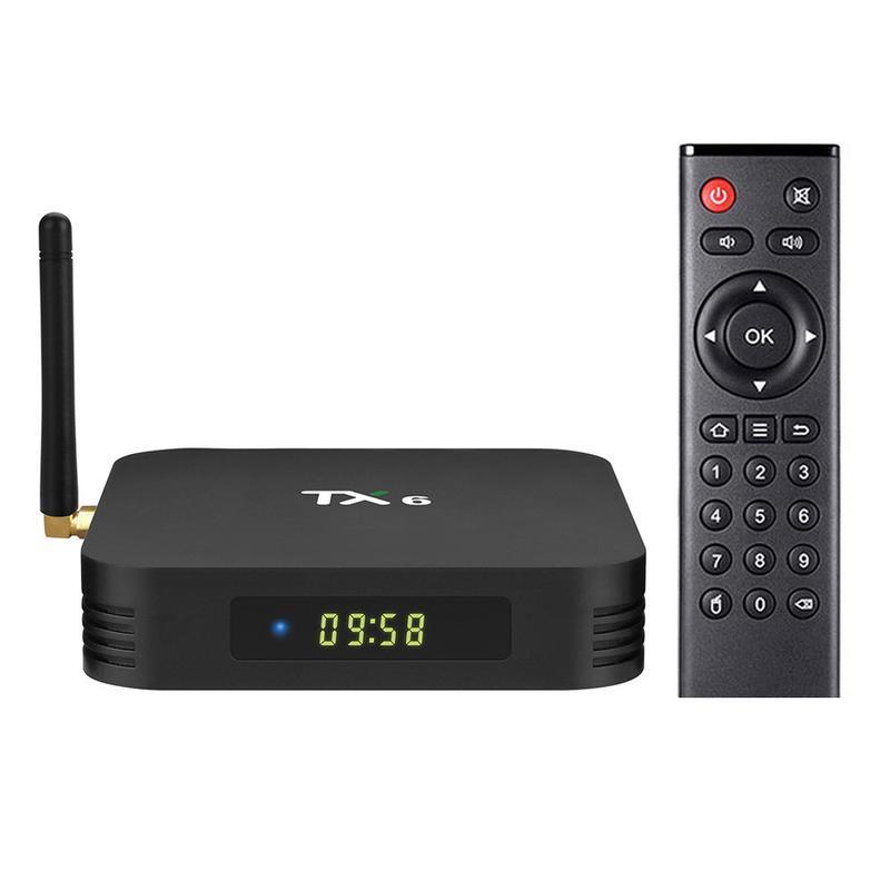 Смарт ТВ приставка (TV Box)Tanix TX6 ALLWINNER H6 (4gb+32gb) - Фото 2