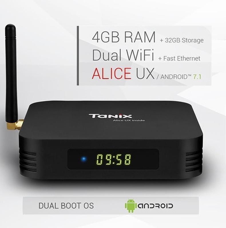 Смарт ТВ приставка (TV Box)Tanix TX6 ALLWINNER H6 (4gb+32gb) - Фото 3
