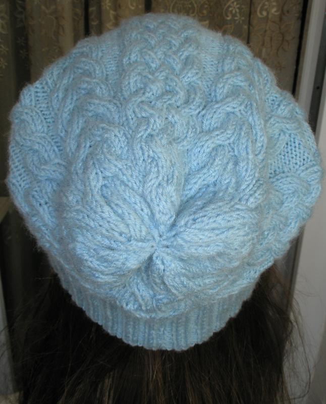 Стильная и теплая шапочка с косами. ручная работа! размер s-l - Фото 5