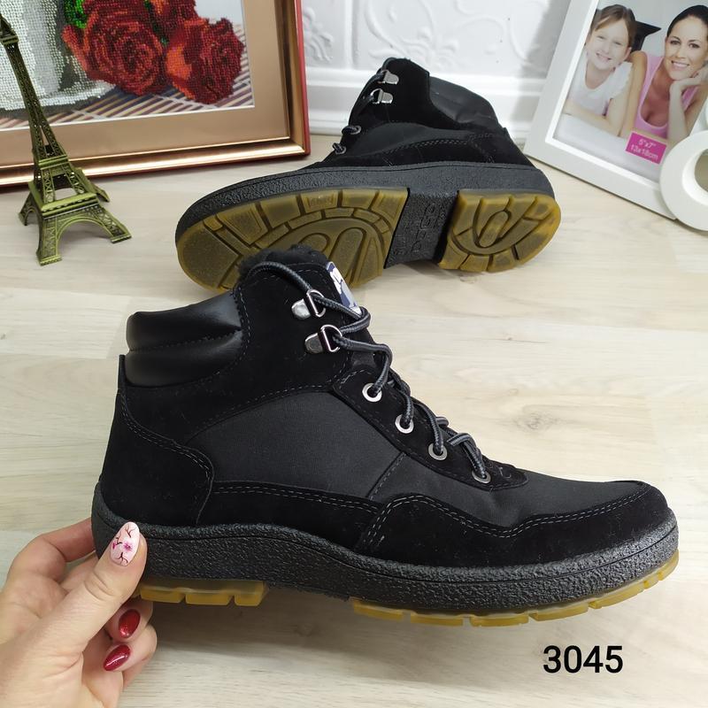 Мужские зимние кроссовки на меху dago style