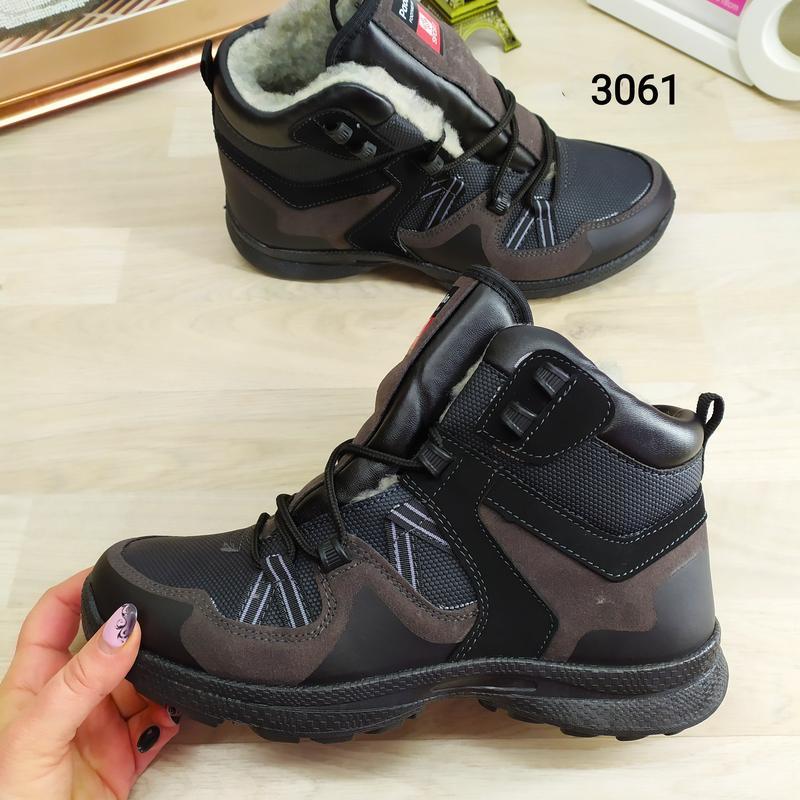 Ботинки мужские зимние paolla