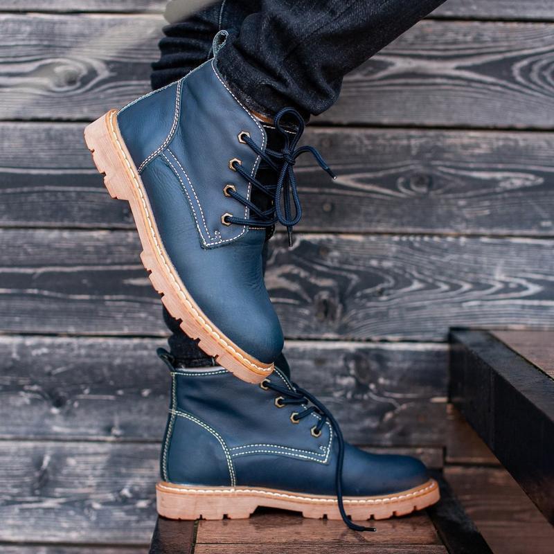 Ботинки south jaston blue (зима)