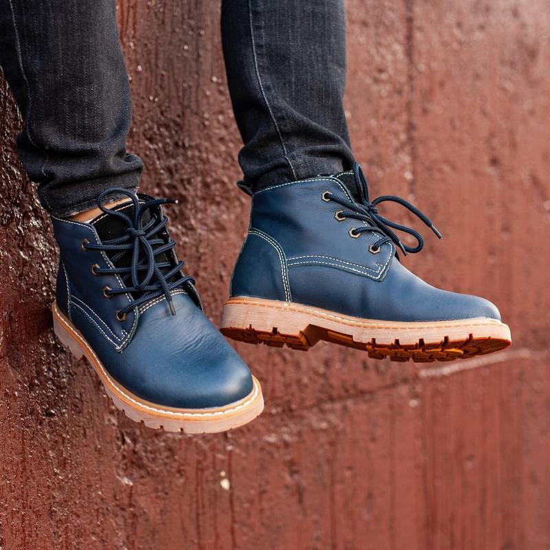 Ботинки south jaston blue (зима) - Фото 4