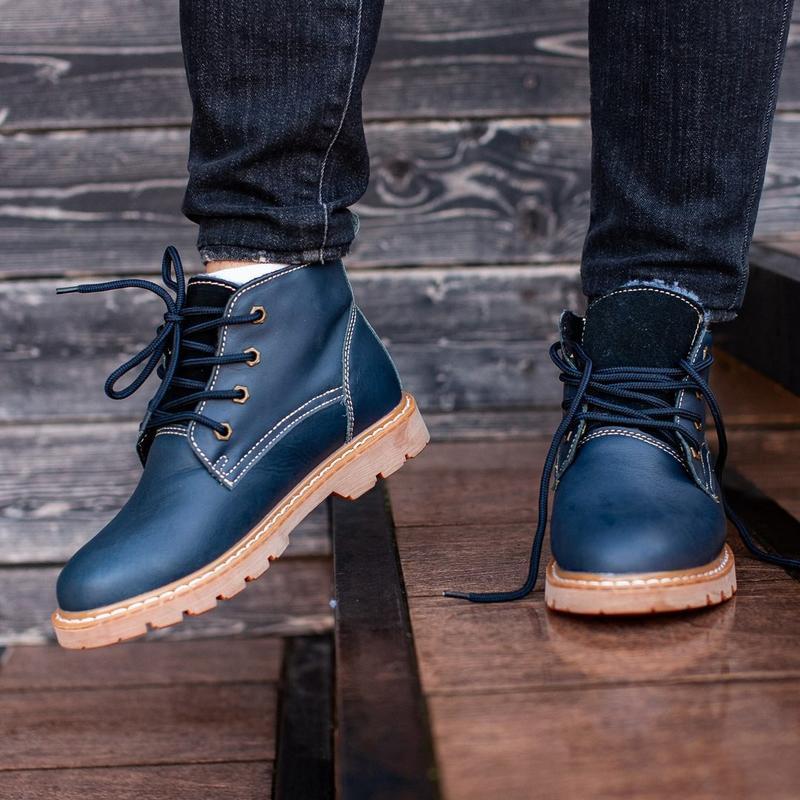 Ботинки south jaston blue (зима) - Фото 7