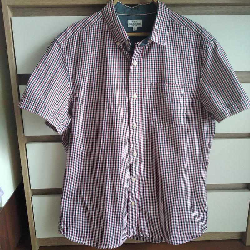 Стильная рубашка с коротким рукавом, тенниска