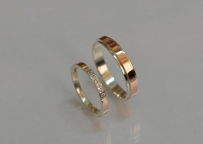Обручальные  кольца  из  серебра - Фото 2