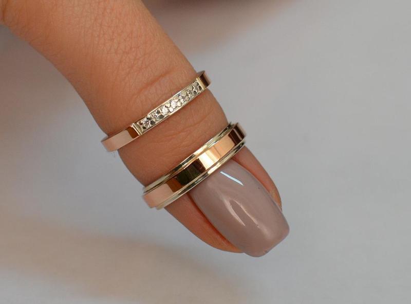 Обручальные  кольца  из  серебра - Фото 3