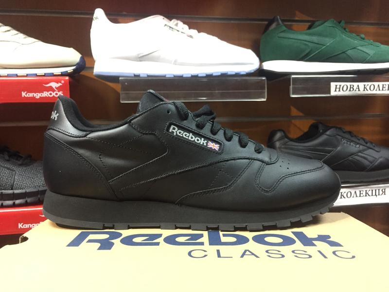 Кроссовки reebok CL classic leather оригинал