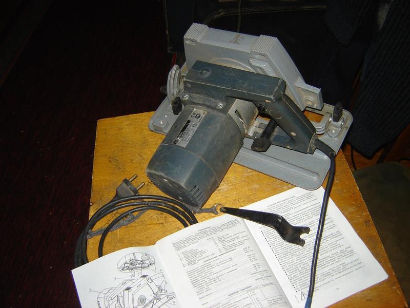 Электропила ручная Rebir IE-5107G