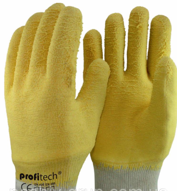 Перчатки рабочие покрытие вспененным латексом