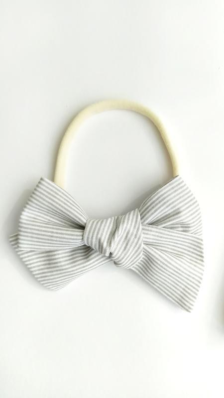 Повязка для девочки, бантик на повязке