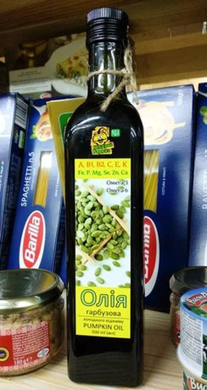 Масло из семян тыквы холодного отжима - Фото 2