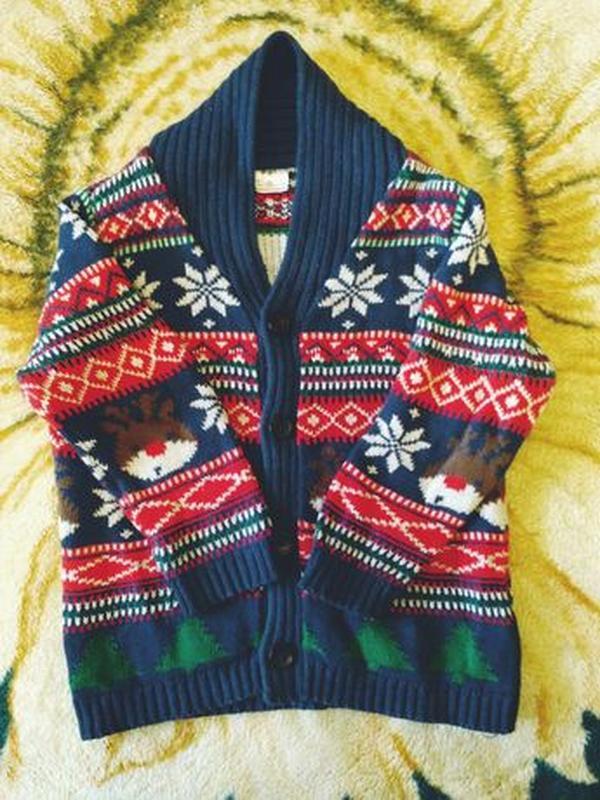 Свитер с оленями, кофта, кофточка, свитерок, джемпер