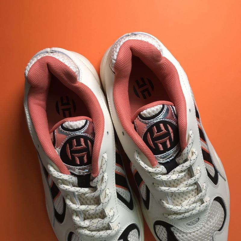 Кроссовки: adidas yung 1 beige black - Фото 5