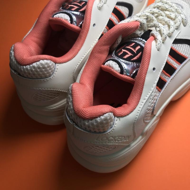 Кроссовки: adidas yung 1 beige black - Фото 6