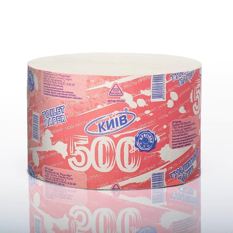 "Туалетная бумага ""Новий Київ"" 500 метров/1 рулон"