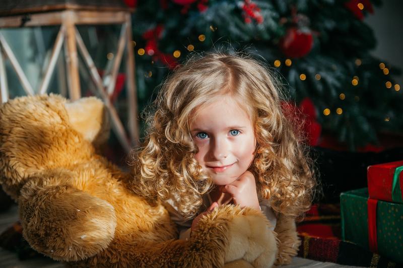 Детская новогодняя фотосессия - Фото 3