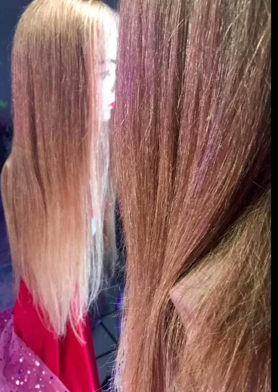 Натуральный парик сетка имитирует кожу - Фото 3