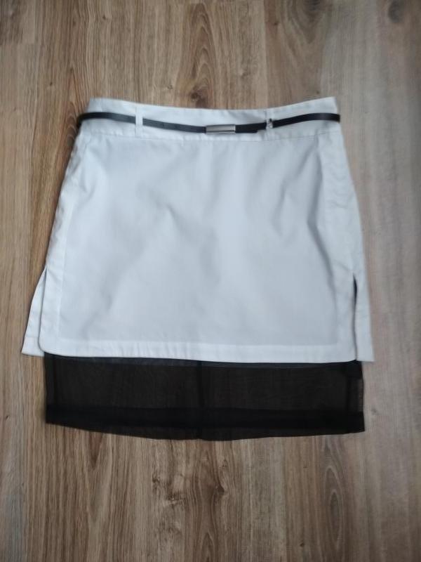 Robert rodriguez стильная юбка с шелковой подкладкой - Фото 2