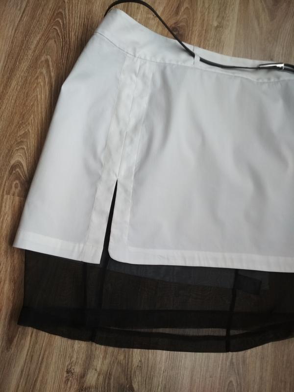Robert rodriguez стильная юбка с шелковой подкладкой - Фото 4