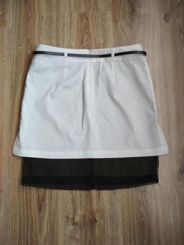 Robert rodriguez стильная юбка с шелковой подкладкой - Фото 5