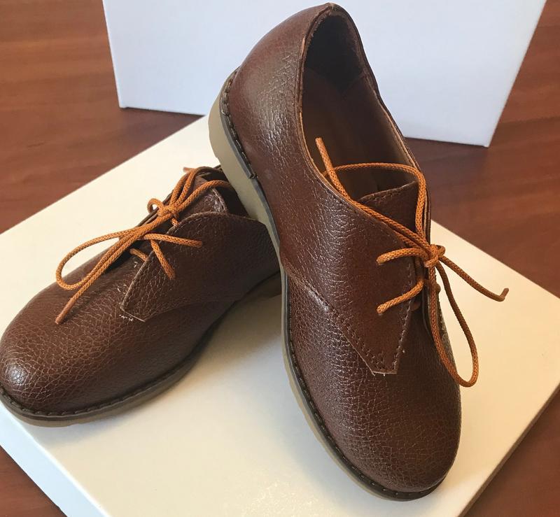 Туфли детские для мальчика классика