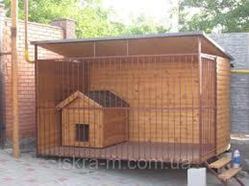 Вольеры и будки для собак
