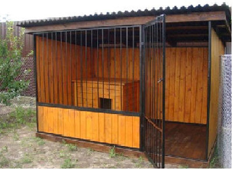 Вольеры и будки для собак - Фото 2