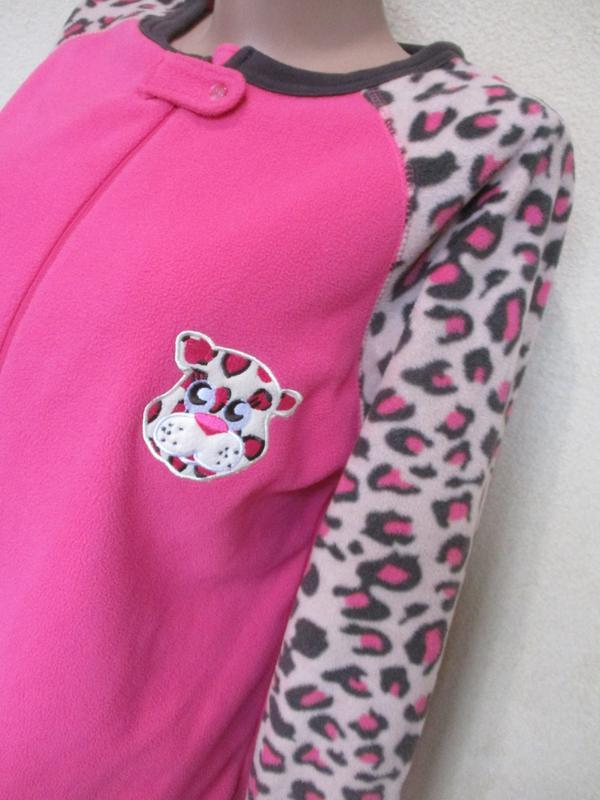 Очень теплый флисовый слип/пижама/костюм домашний/кигуруми - Фото 3