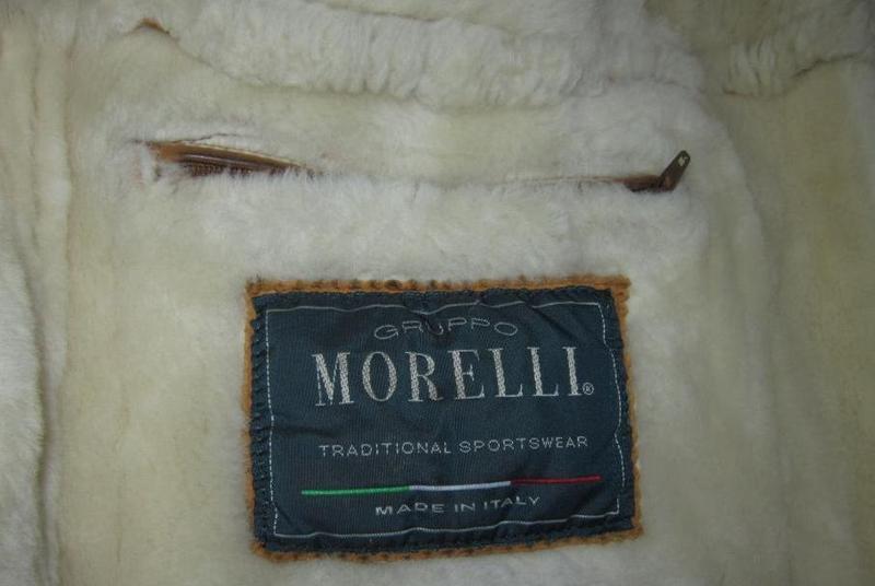 Мужская натуральная дублёнка morelli. италия. лот 693 сезонная... - Фото 7