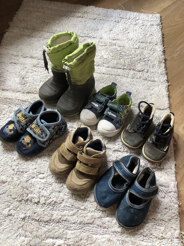 Пакет обуви на 1-2года