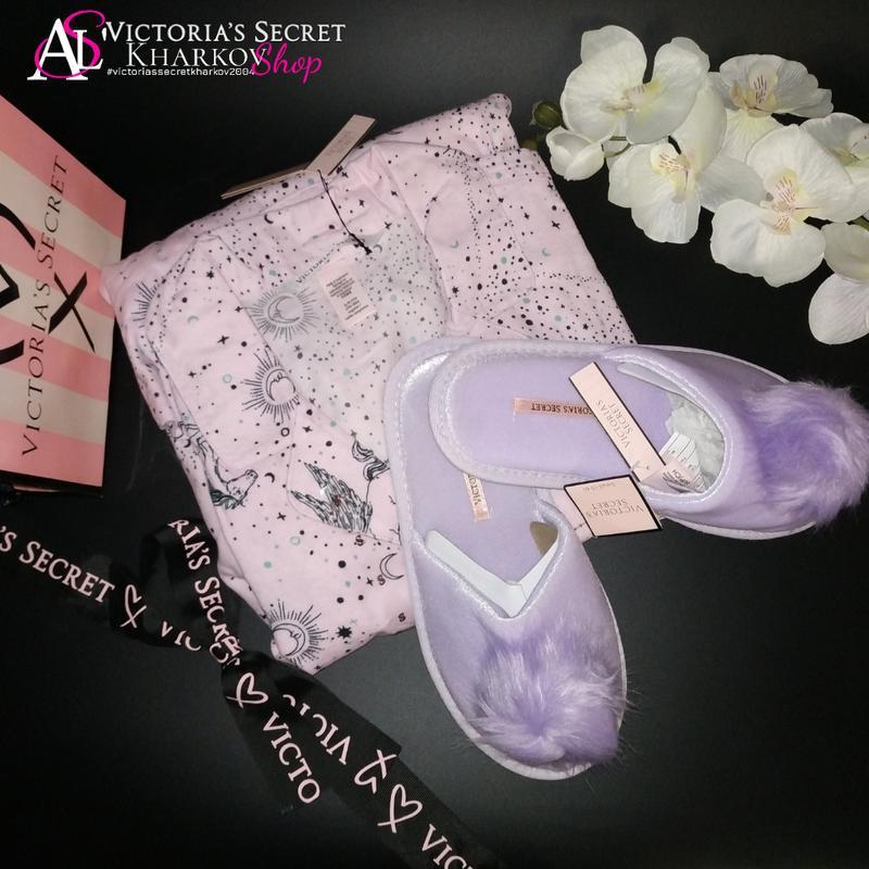 Пижама и тапочки s regular victoria's secret