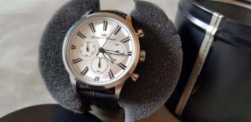 Мужские часы YONGER & BRESSON HCC 116/FG