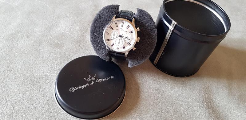 Мужские часы YONGER & BRESSON HCC 116/FG - Фото 3