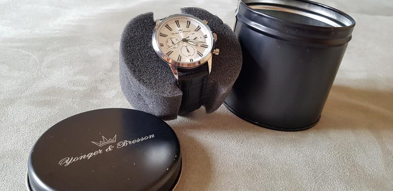 Мужские часы YONGER & BRESSON HCC 116/FG - Фото 5