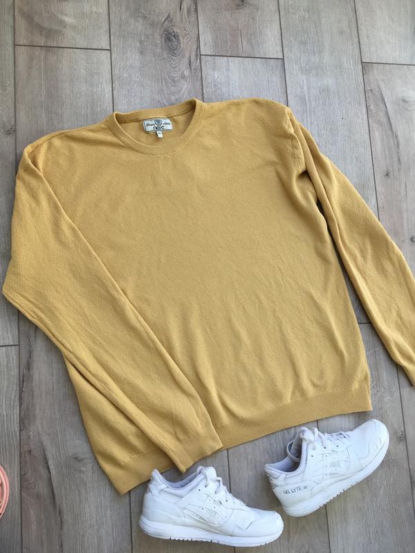 Вафельный свитер next{ 100% хлопок} - Фото 2