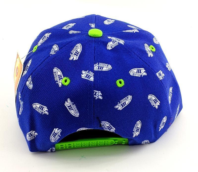Деткская кепка бейсболка с прямым козырьком снепбек - Фото 2