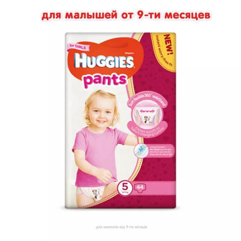 Подгузники HUGGIES трусиками 3,4,5,6 р. - Фото 2