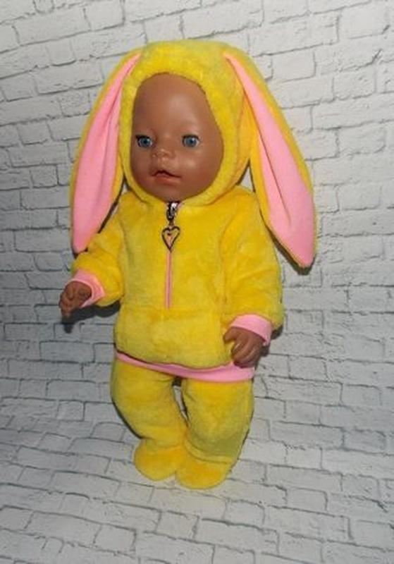 Одежда для кукол-пупсов Беби Борн, Baby Born -отличный подарок - Фото 2