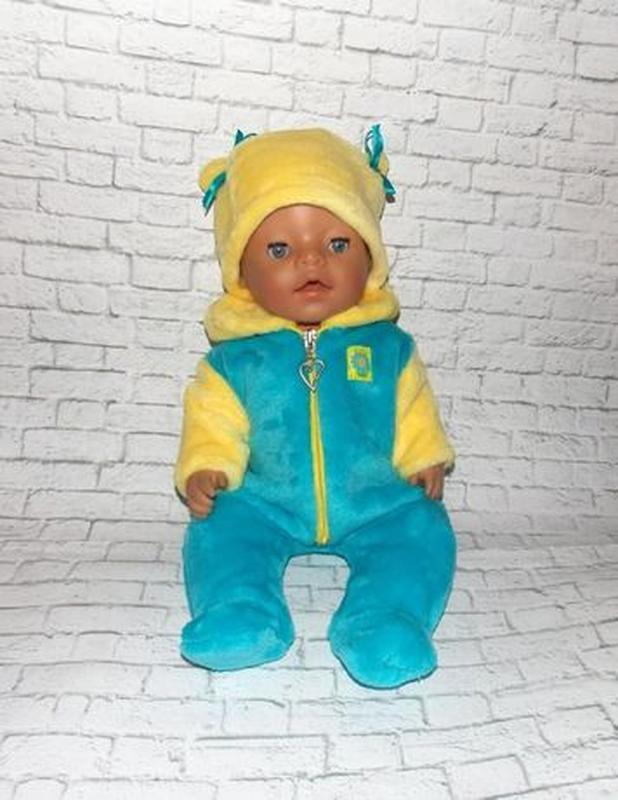 Одежда для кукол-пупсов Беби Борн, Baby Born -отличный подарок - Фото 4