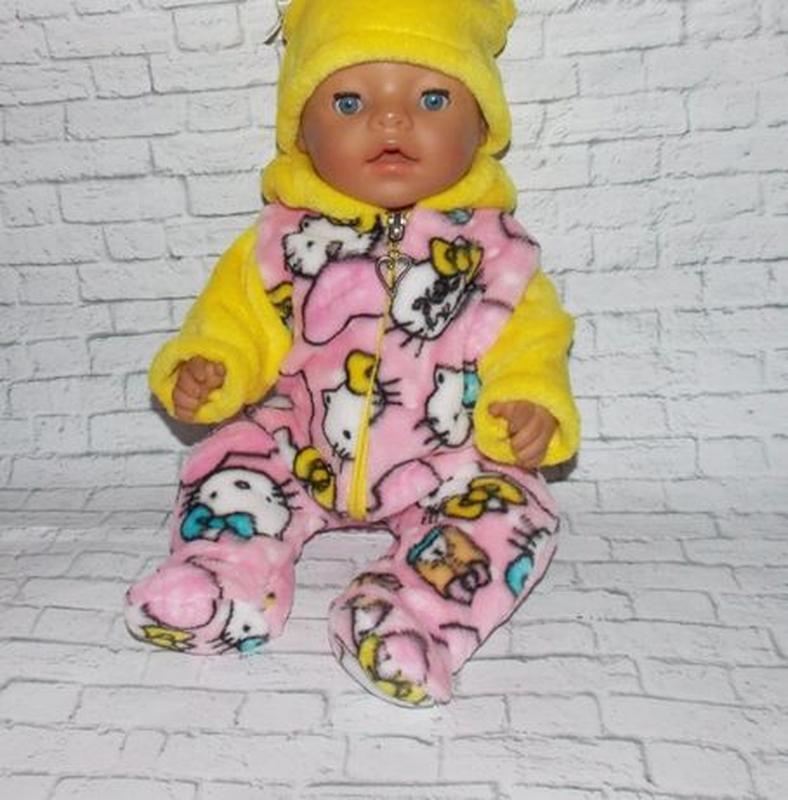 Одежда для кукол-пупсов Беби Борн, Baby Born -отличный подарок - Фото 6