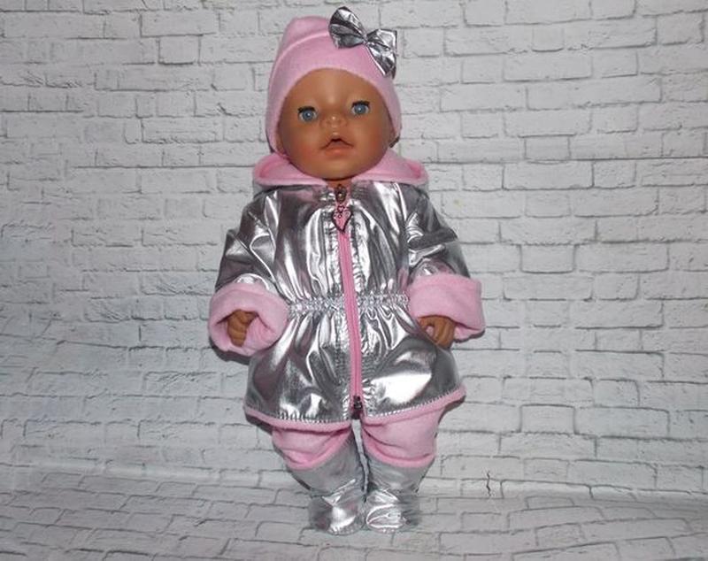 Одежда для пупсов Беби Борн, Baby Born, куртка, шапка, штаны, ... - Фото 2