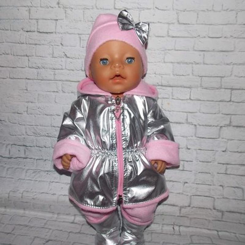 Одежда для пупсов Беби Борн, Baby Born, куртка, шапка, штаны, ... - Фото 3