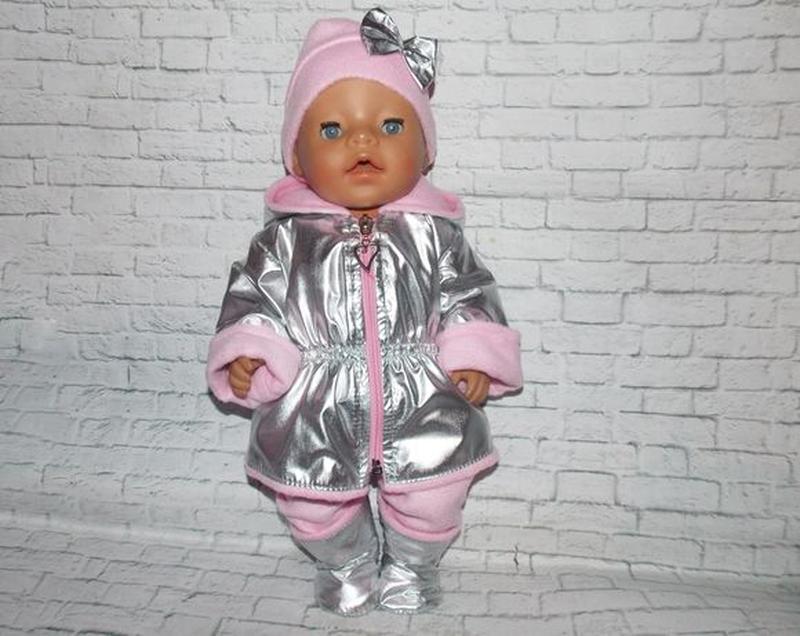Одежда для пупсов Беби Борн, Baby Born, куртка, шапка, штаны, ... - Фото 4