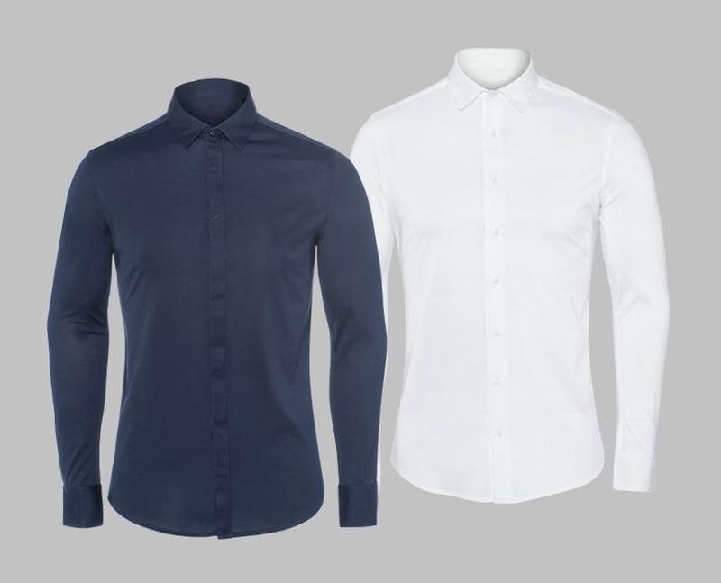 Рубашка из мерсеризованного хлопка р. 39 от дизайнера steffen ... - Фото 3